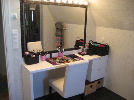 Spegel i duschen