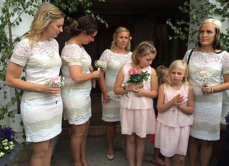 Pernilla wahlgren bröllopsklänning