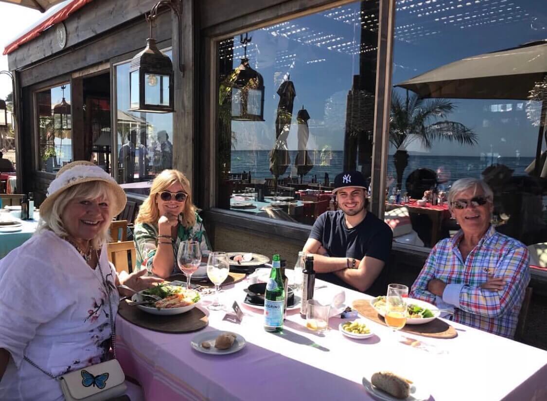 Tillbaka i Marbella med Oliver & min mamma & pappa.