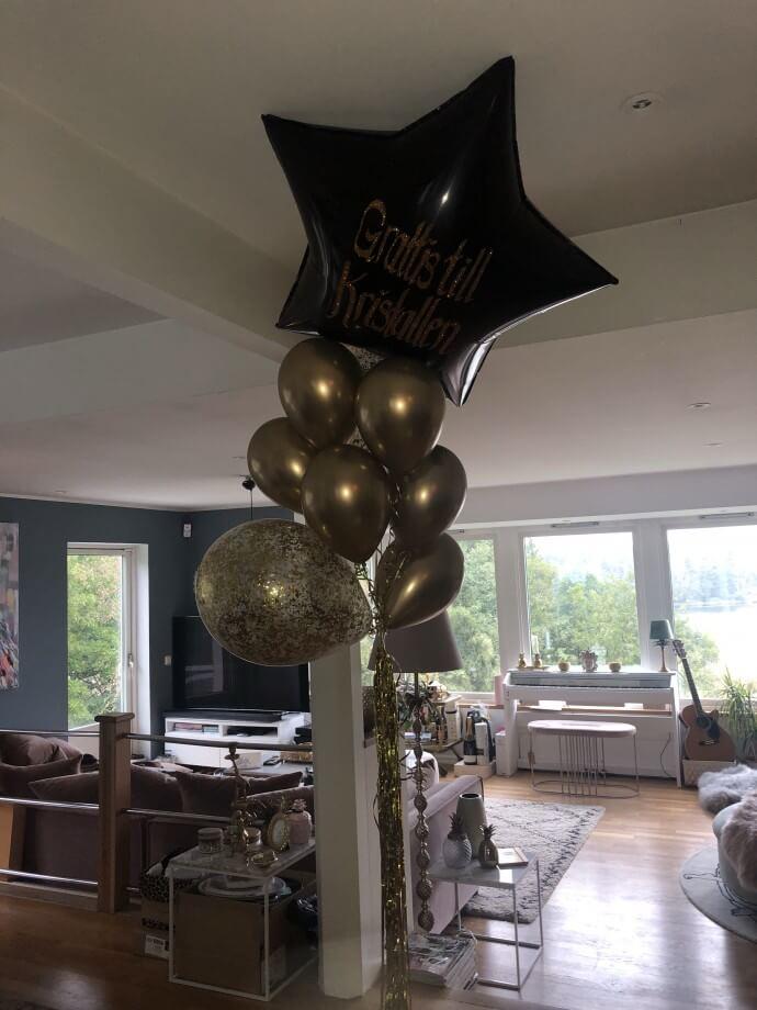 Ballonger, spontanbesök, filminspelning & Kräftskiva