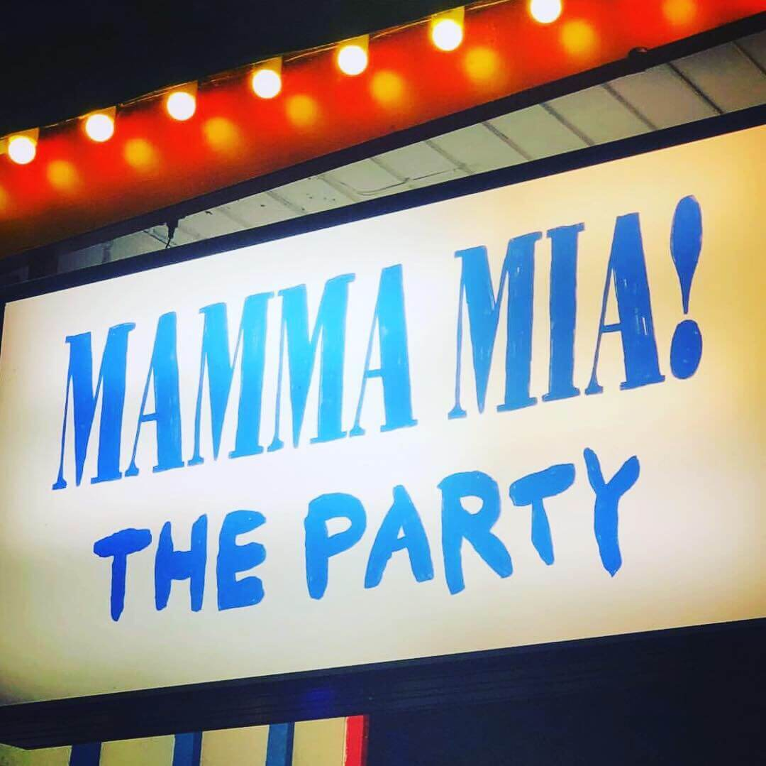 Mamma Mia the party!