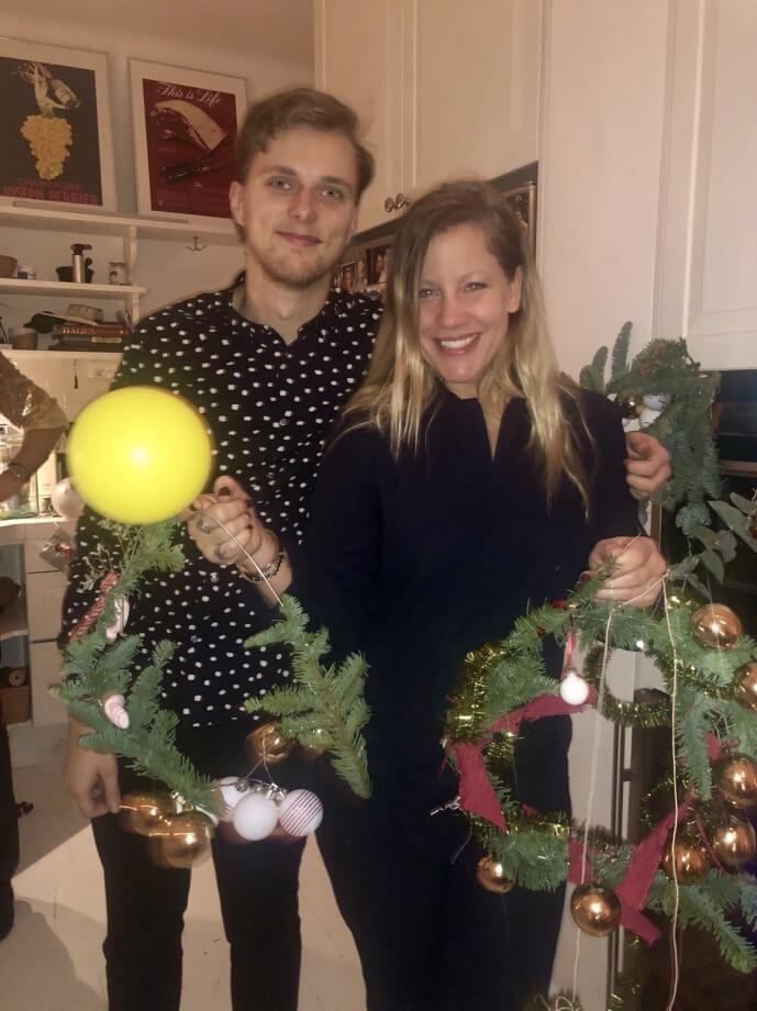 """Julfest för """"Wahlgrens Värld-redaktionen""""!"""