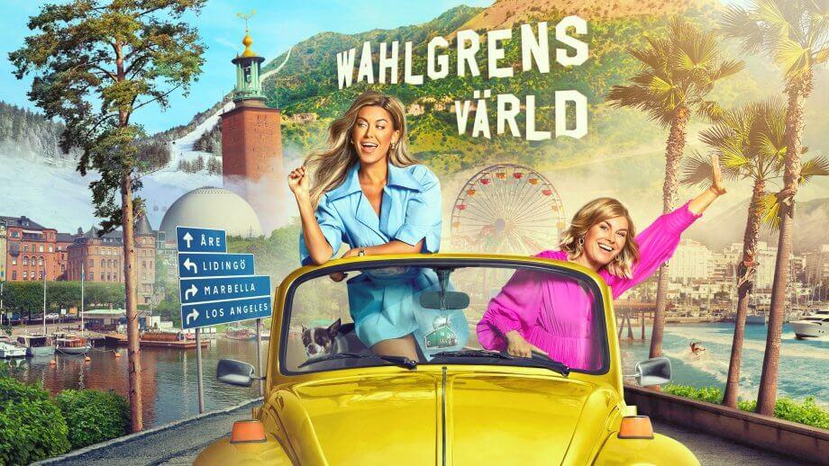 Wahlgrens värld säsong 8-Bianca Ingrosso och Pernilla Wahlgren